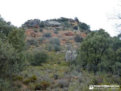Monumento Natural Tetas de Viana - Trillo; salir por madrid
